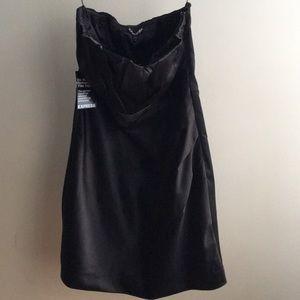 EXPRESS Black Satin dress size 10